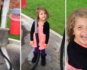 Menina Decide Utilizar Aspirador De Carros Para Limpar... o Cabelo! 6