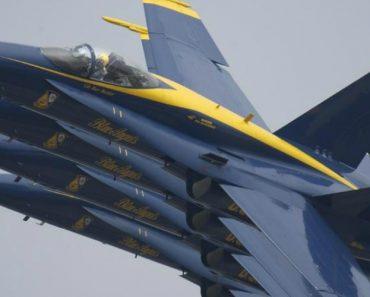 Imagens Impressionantes Mostram a Proximidade Dos Aviões Dos Blue Angels Durante a Formação 2