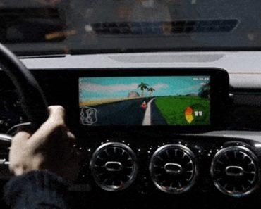 Jogar Mario Kart Ao Volante De Um Mercedes? Sim, é Possível 3