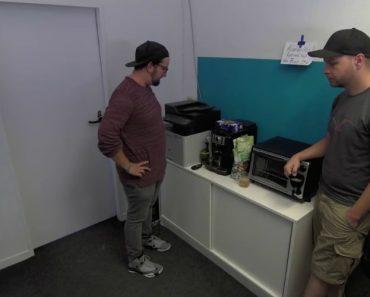 Vídeo Mostra Como Uma Máquina De Café Consegue Proporcionar Momentos De Diversão 5