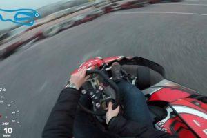 Jovem Tem Experiência Memorável Ao Andar De Kart Pela Primeira Vez 6