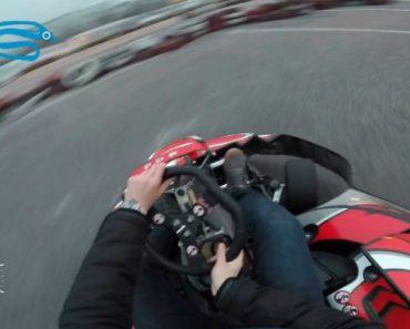 Jovem Tem Experiência Memorável Ao Andar De Kart Pela Primeira Vez 7