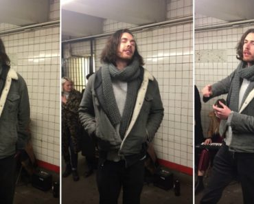 "Hozier Canta ""Take Me To Church"" No Metro De Nova Iorque 1"
