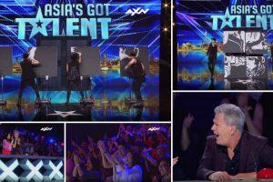 Ninguém Esperava Pelo Resultado Desta Pintura Feita Por Estes Bailarinos No Asia's Got Talent 10