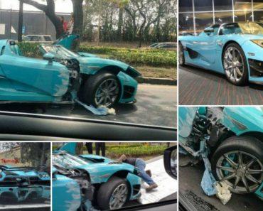 Mexicano Destrói o Único Koenigsegg CCXR Azul Turquesa Do Mundo 6