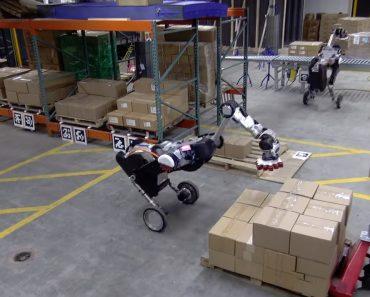 Vídeo De Robots a Trabalhar Em Armazém é (No Mínimo) Estranho 4