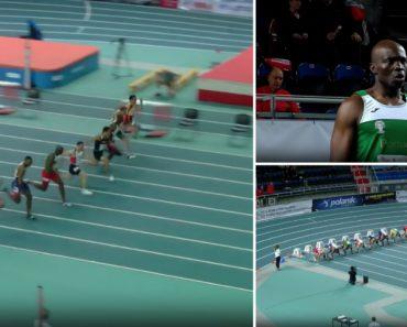 """O Extraordinário Sprint Que Valeu """"Ouro"""" a Francis Obikwelu No Mundial De Veteranos 1"""