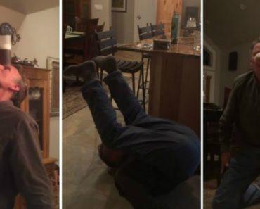Homem De 60 Anos Mostra Como Se Pratica Yoga e Bebe Cerveja Sem Usar As Mãos 6