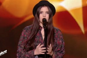 "Jovem lusodescendente Canta ""Lágrima"" De Dulce Pontes No The Voice França 7"