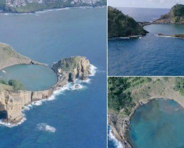 O Ilhéu De Sonho Nos Açores Que Tem Uma Praia No Interior 3
