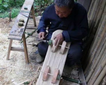 Avô Usa Os Seus Conhecimentos De Carpintaria Para Criar Um Skate Para o Neto 3