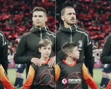 O Gesto De Cristiano Ronaldo Que Encantou As Redes Sociais 7