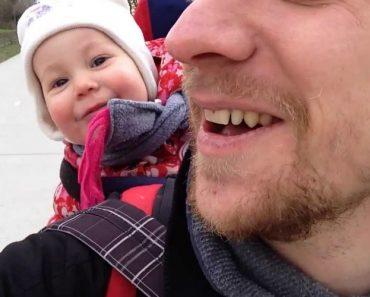 É Impossível Não Rir Com a Gargalhada Contagiante Deste Bebé! 4