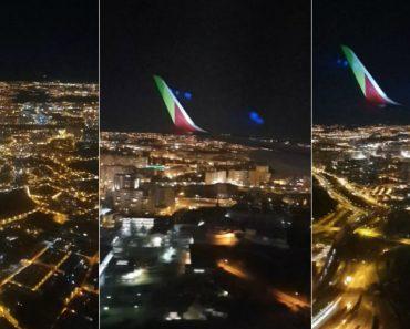 Aterragem Em Lisboa à Noite Num Dos Novos A321 Neo Da TAP Air Portugal 5