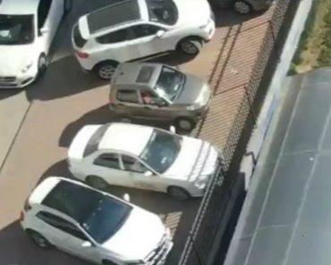 Mestre Do Volante Mostra Como Realmente Se Tira Um Carro De Um Difícil Lugar De Estacionamento 5