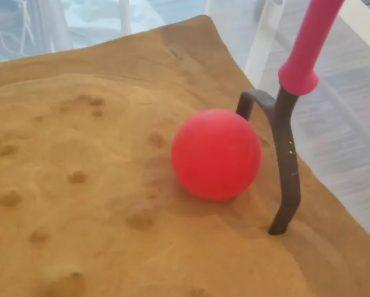 Experiência Mostra Areia Comportar-se Como Um Liquido Quando a Ar Entra Em Ação 7