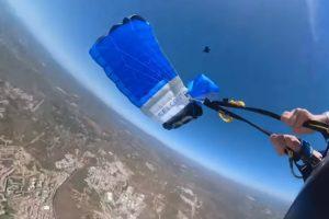 Vídeo Arrepiante Mostra Falha Na Abertura De Paraquedas No Algarve 10