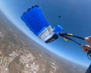 Vídeo Arrepiante Mostra Falha Na Abertura De Paraquedas No Algarve 5