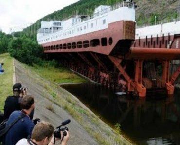 Impressionante Tecnologia: A Maior Plataforma Móvel De Barcos e Navios Do Mundo 6