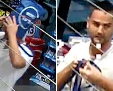 Assaltante Usa Saco Na Cabeça Como Disfarce, Mas Durante o Assalto Tira-o Para Guardar o Dinheiro 4