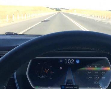 É Isto Que Acontece Quando Adormece Ao Volante De Um Tesla 9