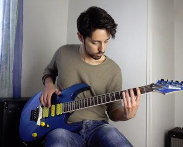 Músico Recria o Som De Diversos Instrumentos Através Das Suas Guitarras 4
