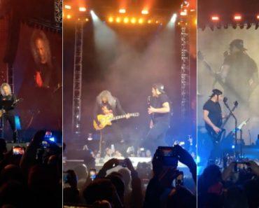 """Metallica Voltaram a Cantar """"A Minha Casinha"""" Dos Xutos & Pontapés Agora No Restelo 4"""