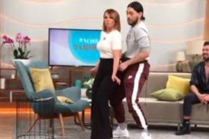 """Conan Osíris Ensinou Tânia Ribas De Oliveira a Dançar o Tema """"Telemóveis"""" 8"""
