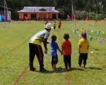 Criança Protagoniza Cómico Momento Durante Corrida Infantil 2