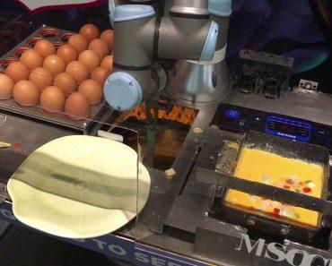 Neste Hotel Quem Prepara As Omeletes é Um Robô 1