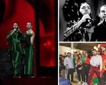 Vídeo Mostra Conan Osíris Durante Ensaios Para o Festival Da Eurovisão Em Israel 7