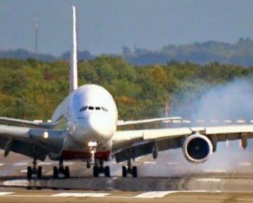 A Assustadora Aterragem Do Maior Avião De Passageiros Do Mundo 6