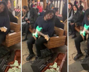 Artista De Rua Deixou o Metro De Nova Iorque Literalmente Paralisado Só Para Ouvi-lo Cantar 2