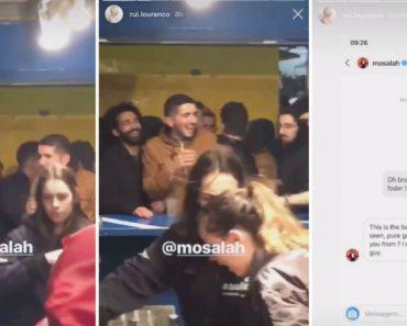 Salah Quer Conhecer Sósia Português Que Festejava Na Queima Do Porto a Passagem Na Liga Dos Campeões 3