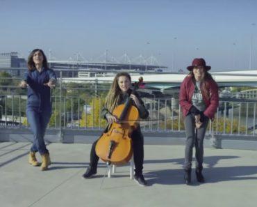 3 Jovens Fazem Extraordinária Combinação De Música Clássica e Hip Hop 8