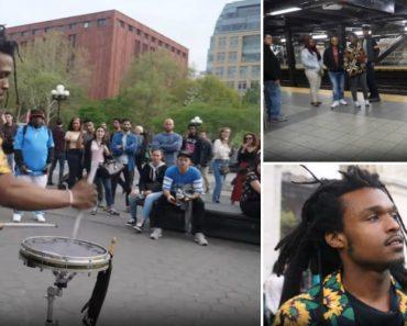 Baterista De Rua Em Nova Iorque Ganha Até 400 Dólares Por Dia 6
