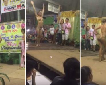 Concorrente Mostra Como Arrasar Em Concurso De Miss 6