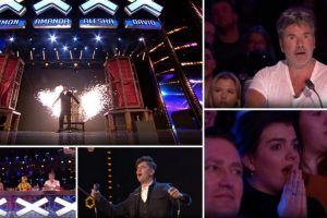 Concorrente Do Britain's Got Talent Faz Teletransporte Com Membro Do Público e Deixa Todos De Boca Aberta 7