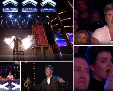 Concorrente Do Britain's Got Talent Faz Teletransporte Com Membro Do Público e Deixa Todos De Boca Aberta 6