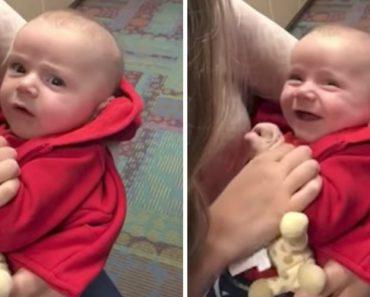 Bebé Ouve Pela Primeira Vez e Tem Reação Maravilhosa Perante Os Pais 16