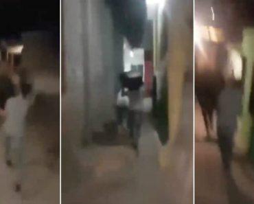 """Correram De Madrugada Pelo Bairro Com Uma Coluna Com """"Sons De Espíritos"""" 6"""
