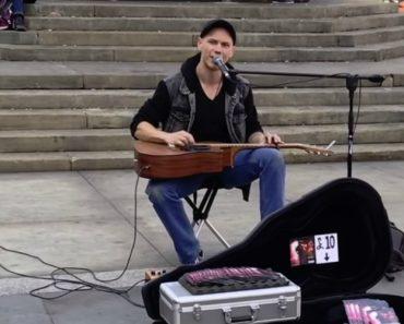Músico Encanta As Ruas De Londres Com o Seu Estilo Musical Único 5