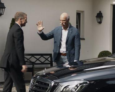 BMW Faz Homenagem Bem-Humorada Ao Ex-Presidente e CEO Da Mercedes-Benz 6