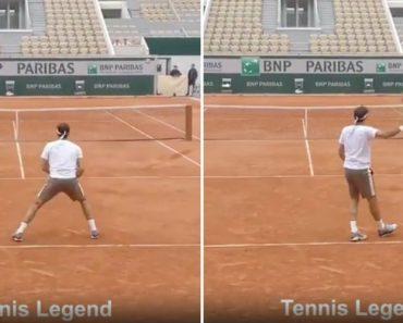Roger Federer Mostra Como Se Domina Uma Bola De Ténis 3