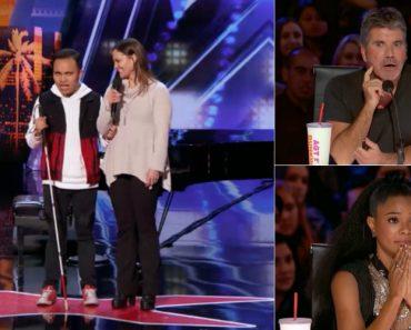 Jovem Cego e Autista Emociona Jurados e Plateia No America's Got Talent 7