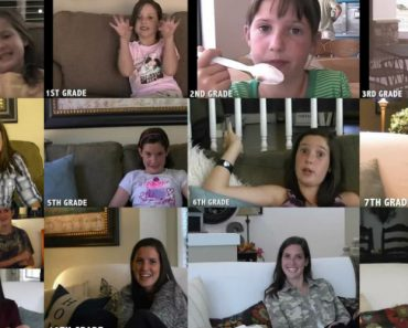 Pai Filmou a Reação Da Filha Ao Primeiro Dia De Escola Durante 13 Anos 12