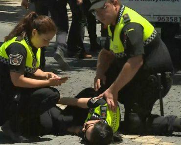Agente Da Polícia Atropelada Por Condutor De Tuk-Tuk Em Sintra 9