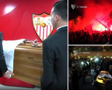Momento Arrepiante Da Despedida Dos Adeptos Do Sevilha a José Antonio Reyes 6