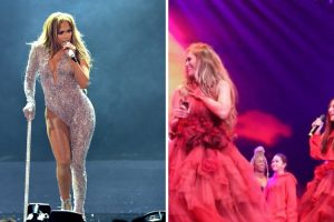 Dueto Amoroso: Filha De Jennifer Lopez Juntou-se à Mãe Em Palco 17