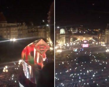 Arrepiante: o Hino Nacional Cantado Por Milhares Visto Da Varanda Da Câmara Do Porto 7